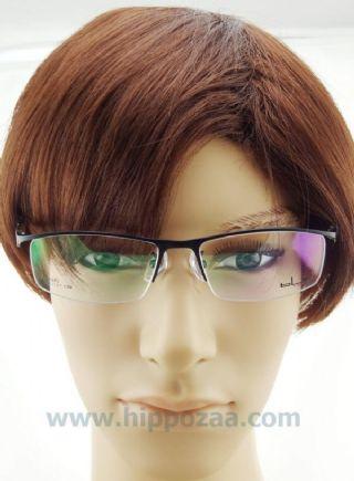 bL eyewear ครึ่งกรอบแว่นตา frame black