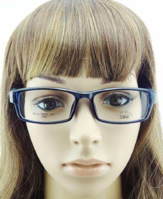 PLAY MOUSE F5114 TR90 กรอบแว่นตาสีน้ำเงิน ขาแว่นสีฟ้า/น้ำเงิน