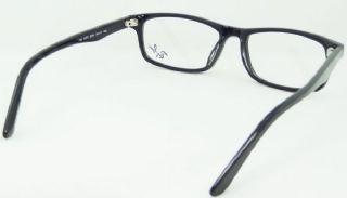 RAY-BAN กรอบแว่นตา Acetate Frame สีดำ ขาแว่นสีดำ