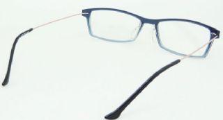BOLERO TR90 frame กรอบแว่นตาสีน้ำเงิน ขาแว่นสีทองแดง