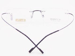BAI DA BETA TITANIUM  ไร้กรอบแว่นตาสีดำ ขาแว่นสีดำ