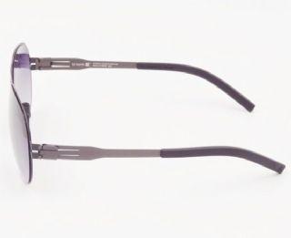 แว่นตากันแดด ic! berlin model samstag frame gun metal