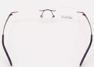 IP -TITANIUM ไร้กรอบแว่นตา TITANIUM FRAME สีน้ำตาล
