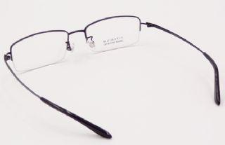 IP -TITANIUM ครึ่งกรอบแว่นตา TITANIUM FRAME สีดำ