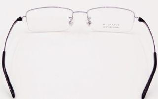 IP -TITANIUM ครึ่งกรอบแว่นตา TITANIUM FRAME สีเงิน