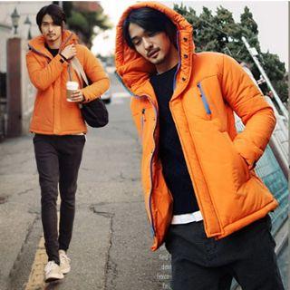 เสื้อกันหนาวพร้อมส่ง : jacket บุ cotton สีสวย chic