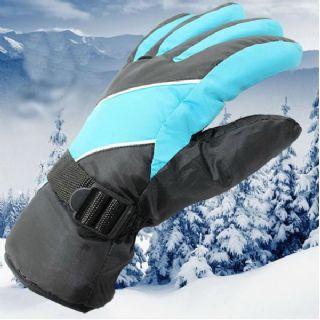 เสื้อผ้าแฟชั้นชาย : ถุงมือกันหนาว ถุงมือสกี