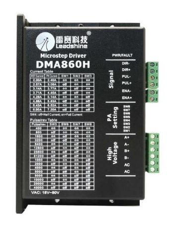 LEADSHINE STEPPER DRIVER DMA860H 6.0A.