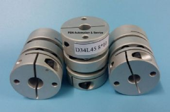 Double Flexible disk Coupling D34L45 8*10