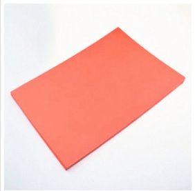 แผ่นตรายางเลเซอร์ A4 หนา 2.3 มม.สีแดง
