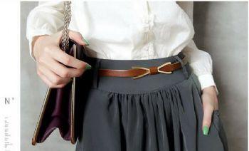 เสื้อผ้าแฟชั่น : เข็มขัดหัวโบว์เก๋สวย