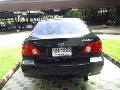 TOYOTA ALTIS 1.6 i+LPG สีดำ ปี 2002