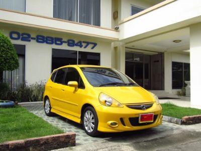 HONDA JAZZ 1.5S VTEC สีเหลือง ปี 2008