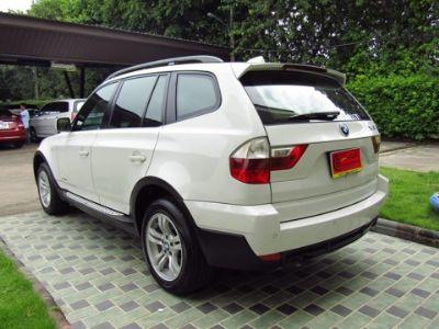 B M W X3 2.0i E83 สีขาว ปี 2011