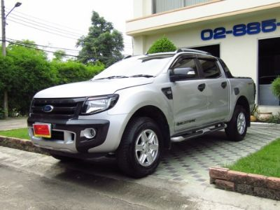 FORD RANGER 2.2 4D สีเทา ปี 2015