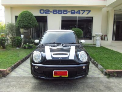 MINI COOPER 1.6R53S HATCHBACK AT สีดำ ปี 2007