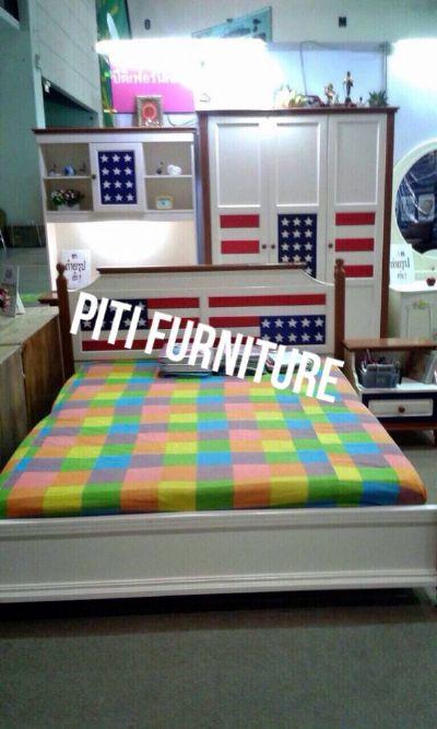 ชุดห้องนอนลาย USA