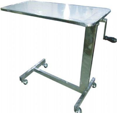 PS 38โต๊ะคร่อมเตียง(ขอบสแตนเลส)