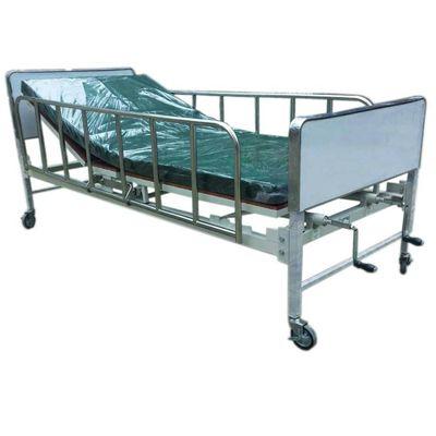PS 2 เตียง 2 ไกร์ มือหมุน หัว-ท้ายถอดได้ พร้อมที่นอนตอนเดียว