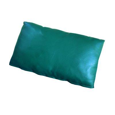 PS 267-268 หมอนผู้ป่วยหุ้มหนังเทียมสีเขียว