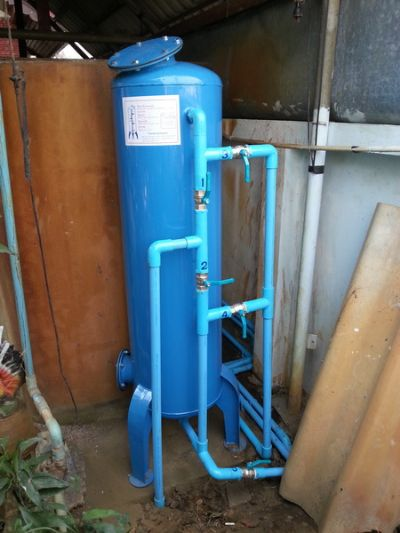 ถังกรองน้ำภายในบ้าน ขนาด 40x120