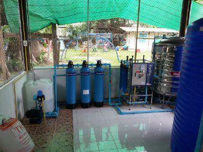 ติดตั้งเครื่องกรองน้ำ RO น้ำดื่มโรงเรียน