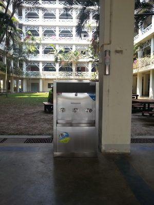ตู้น้ำเย็นพร้อมเครื่องกรองน้ำดื่ม