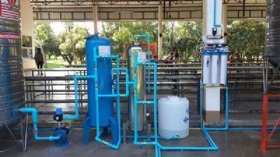 ระบบกรองน้ำดื่มในสำนักงานและบุคลากร