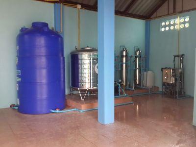 โรงงานน้ำดื่ม ขนาด 9000 ลิตร/วัน