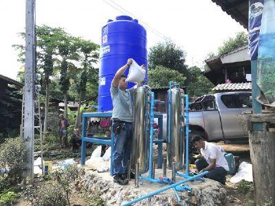 เครื่องกรองน้ำดื่มชุมชน แม่ขะจาน จ.เชียงราย
