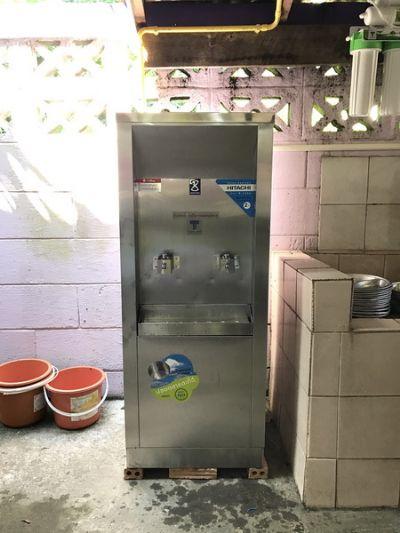 ติดตั้งตู้น้ำเย็น 2 หัวก๊อกพร้อมเครื่องกรองน้ำ 5 ขั้นตอน