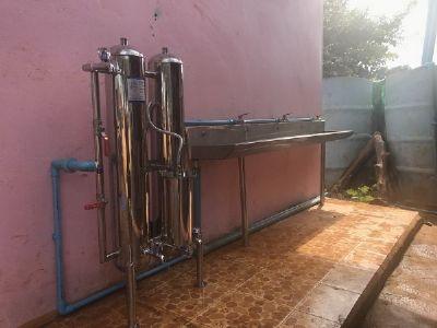 เครื่องกรองน้ำดื่มโรงเรียนบ้านป่าตึง จังหวัดเชียงราย