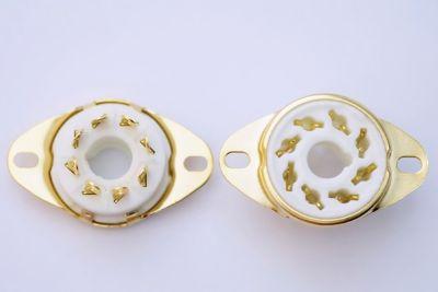ซ็อกเก็ตหลอด 8 Pin Hardwire Gold (New)