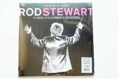 Rod Stewart With The Royal Philharmonic Orchestra - You're In My Heart (Black Vinyl)