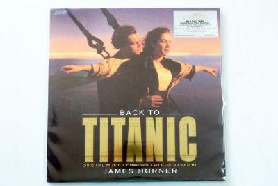 James Horner - Back To Titanic OST. (Gold Vinyl)