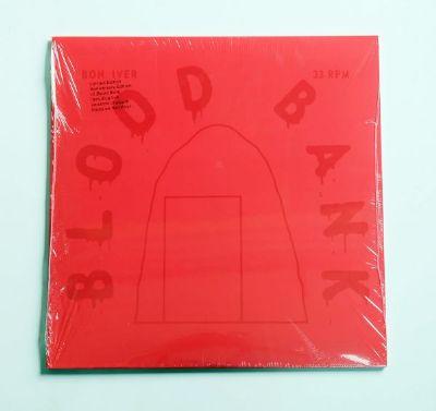 Bon Iver - Blood Bank (Red Transparent Vinyl)