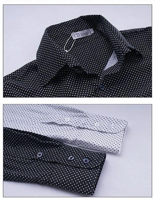 เสื้อผ้าผู้ชาย : เชิร์ตลายจุดคลาสสิค