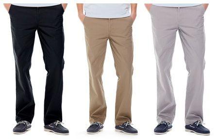 เสื้อผ้าผู้ชาย : กางเกง classic cotton