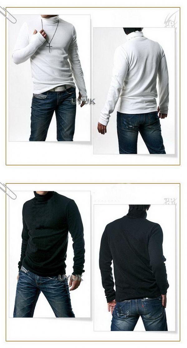 เสื้อผ้าผู้ชาย : สเวตเตอร์คอเต่า sportman