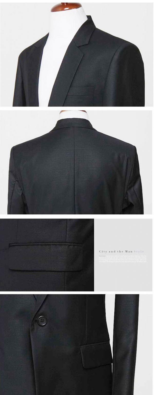 เสื้อผ้าแฟชั่นผู้ชาย : สูท classic black