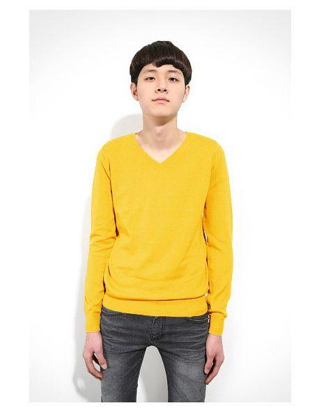 เสื้อกันหนาวผู้ชาย : สเวตเตอร์ colorful คอวี