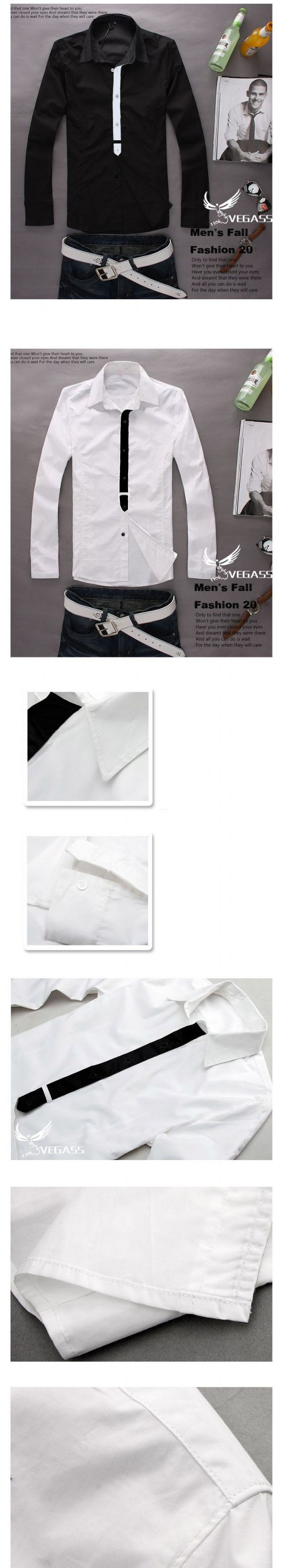 เสื้อผ้าผู้ชาย เสื้อผ้าแฟชั่นชาย เสื้อเชิร์ตแต่งสาบ