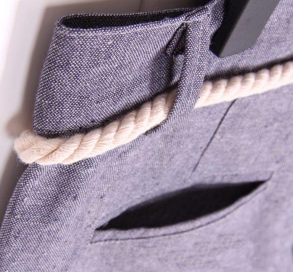 เสื้อผ้าแฟชั่นผู้ชาย กางเกงขสาสั้นเอวผูกเชือก
