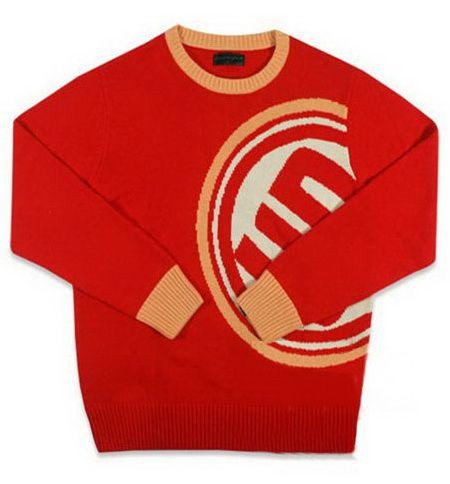 เสื้อกันหนาว สเวตเตอร์ลาย semi-circle