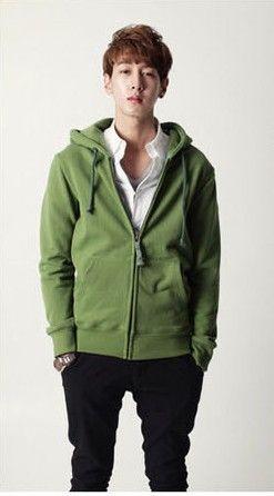 เสื้อกันหนาวผู้ชายพร้อมส่ง : สเวตเตอร์มีฮูด colorful