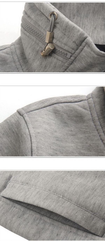 เสื้อกันหนาวผู้ชายพร้อมส่ง : สเวตเตอร์คอ joker ซิปหน้า