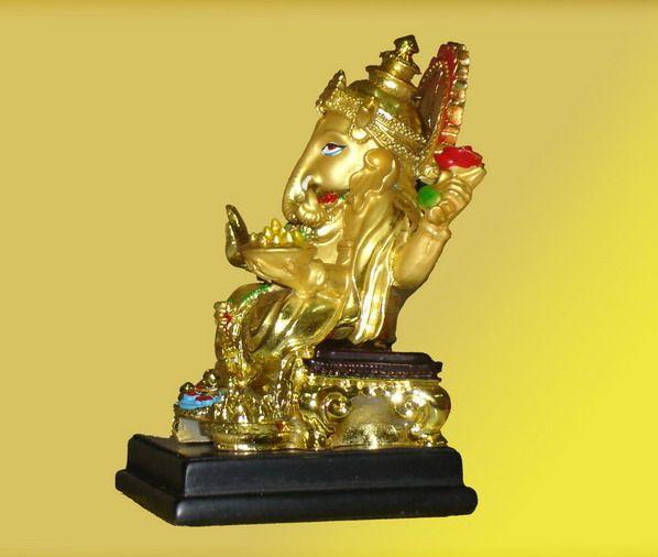 รูปปั้นเรซิ่นทองเหลือง ปางประทานพร