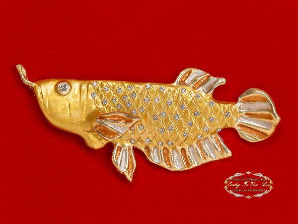 ของที่ระลึก กรอบปลามังกรมงคล