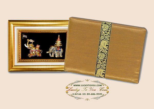 ของพรีเมี่ยมกรอบทองคู่ลายไทย A03 A05