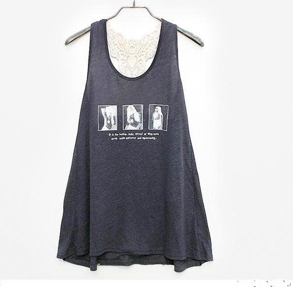 เสื้อผ้าแฟชั่น: เสื้อหวานซ่อนเปรี้ยวหลังลูกไม้
